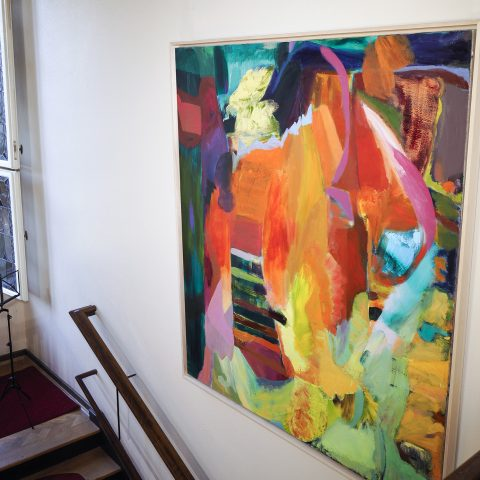 Häutung, Öl auf Leinwand, 185 x 160 cm, 2020