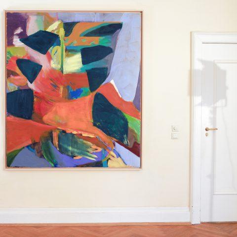 Vortex, Öl auf Leinwand, 185 x 160 cm, 2020