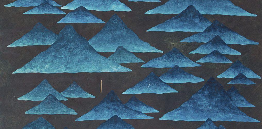 Walter_Yu-Serie_Berge-1-24x34cm-2020-Collage_Acryl_Aquarell-Papier